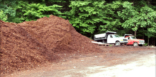 New Hampshire bark mulch